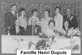 Famille Henri Dupuis