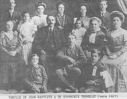 Famille Jean Batiste Duchesneau