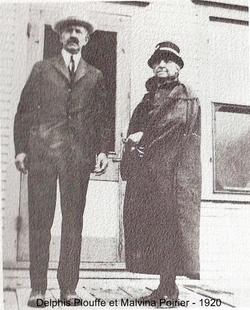 Delphis Plouffe et Malvina Poirier 1920
