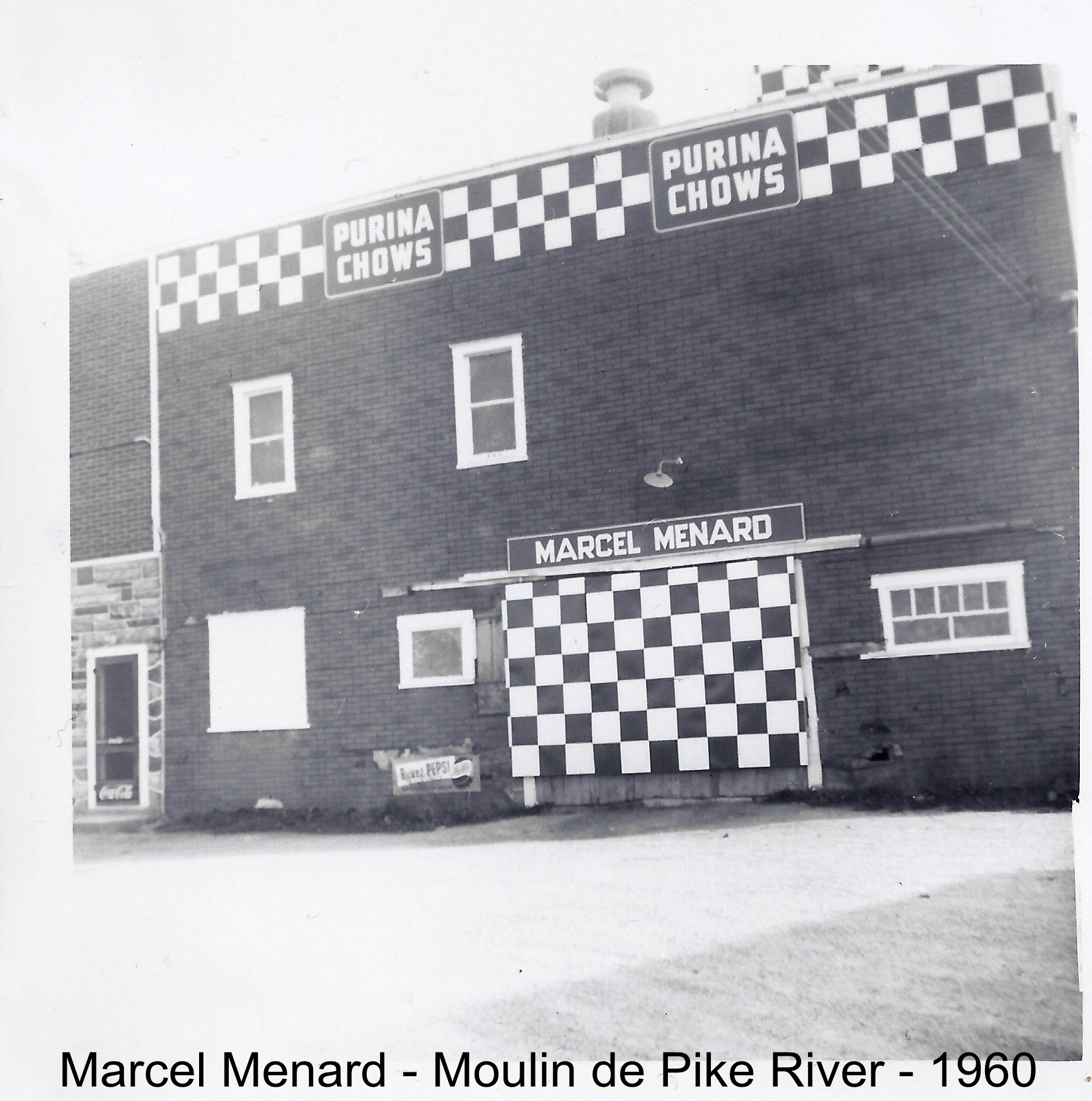 Menard Marcel Moulin Pike River 1960