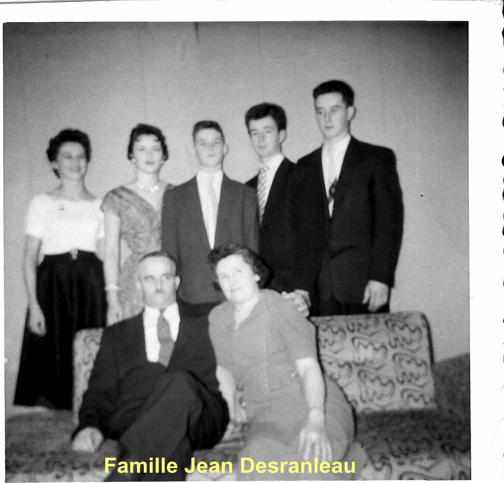 Famille Jean Desranleau