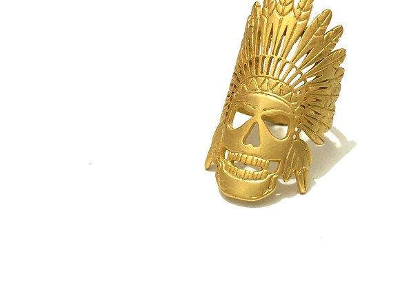 טבעות מעוצבות טבעת זהב אינדיאני לרכישה אונליין