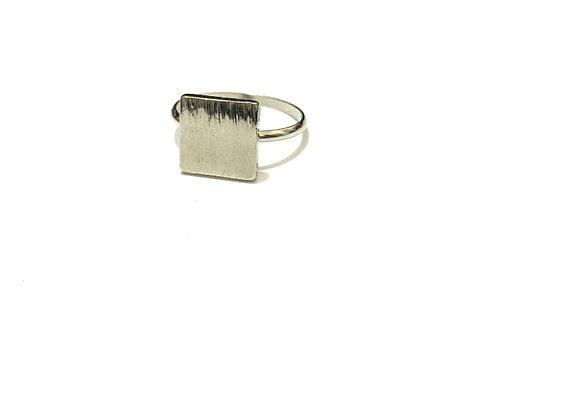 טבעת מרובעת טבעות מעוצבות לרכישה אונליין טבעת כסף