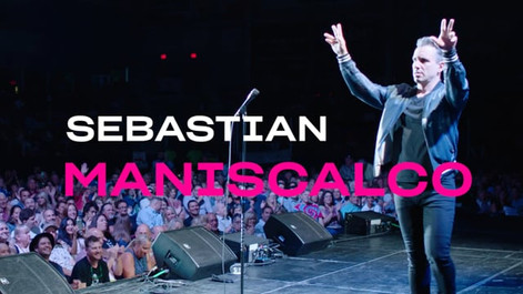 Sebastian Maniscalco Visits The National Comedy Center