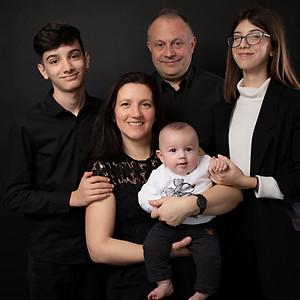 Tina et sa famille