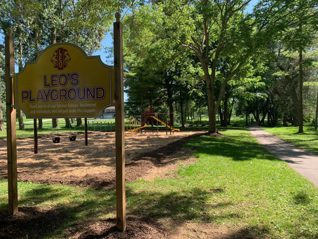 Brussels Leo Club opens their New Playground