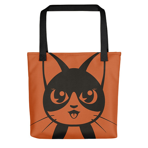 B&W Cat Tote bag