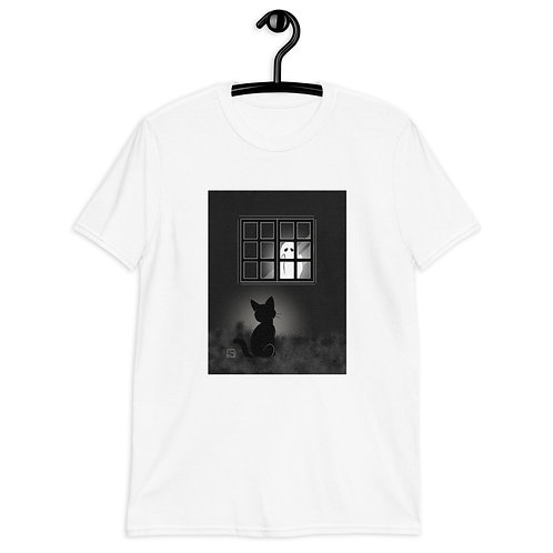 By The Window At Night  Short-Sleeve Unisex T-Shirt