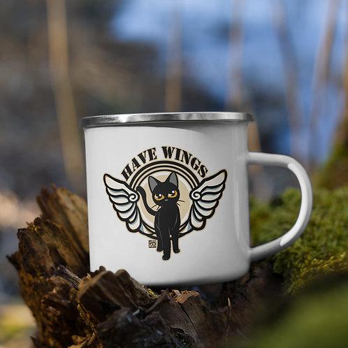 Have Wings Enamel Mug