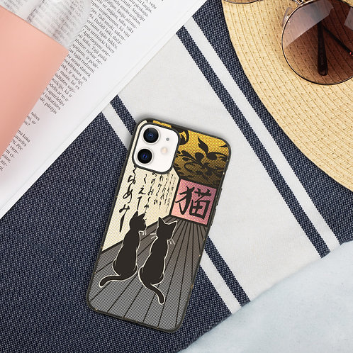 Cats and Corridors Biodegradable phone case