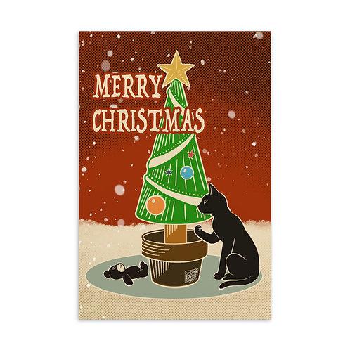 Merry Christmas Standard Postcard