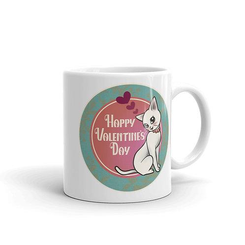 Valentine's Kitty Mug