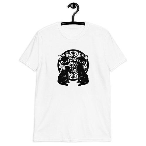 Kitty Twins Short-Sleeve Unisex T-Shirt