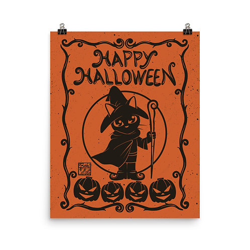 Happy Halloween Whim Poster