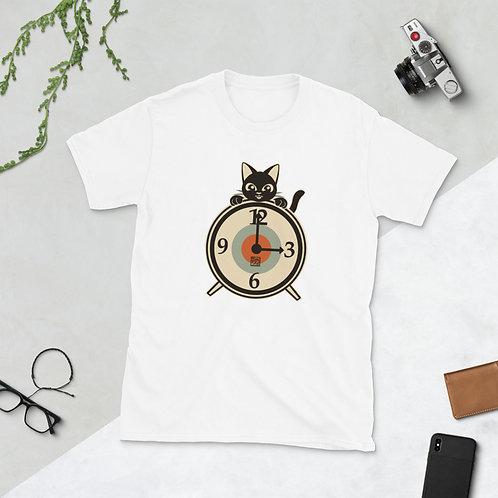 Clock Short-Sleeve Unisex T-Shirt