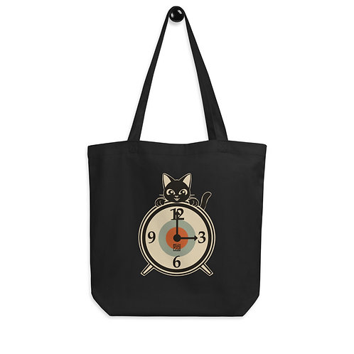 Clock Eco Tote Bag
