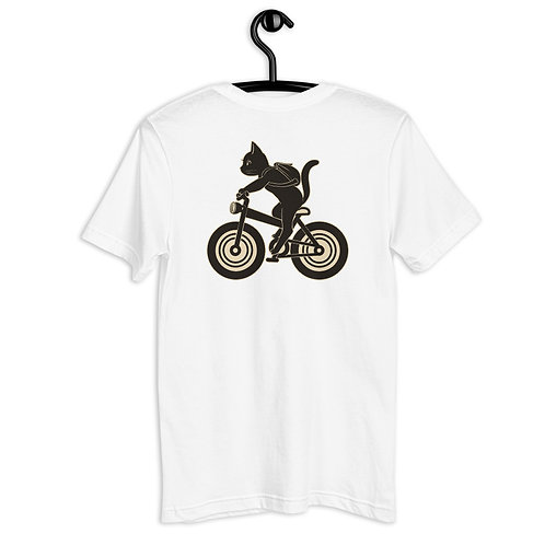 Cycling Whim Unisex Pocket and Back Style T-Shirt
