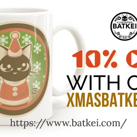 10% OFF Xmas Sale