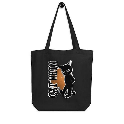 Cat Whim-2 Eco Tote Bag