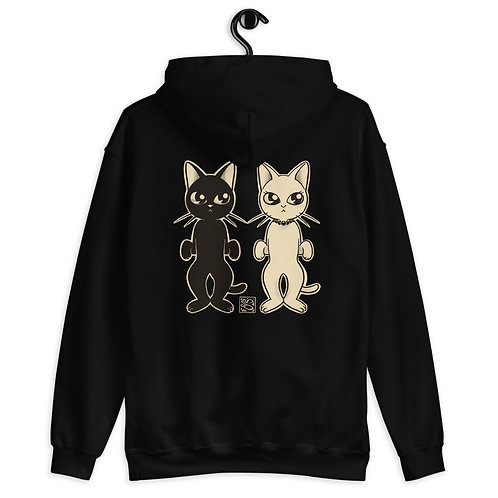 Two Cats Unisex Hoodie