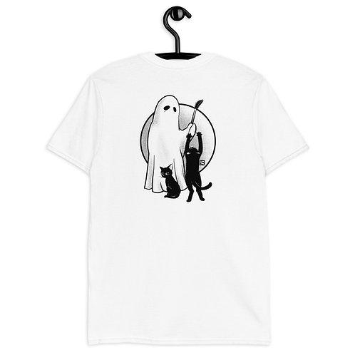 Ghost Loves Cats Short-Sleeve Unisex T-Shirt