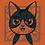 Thumbnail: B&W Cat (small square) Short-Sleeve Unisex T-Shirt