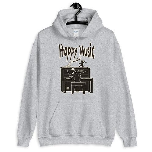 Happy Music Unisex Hoodie