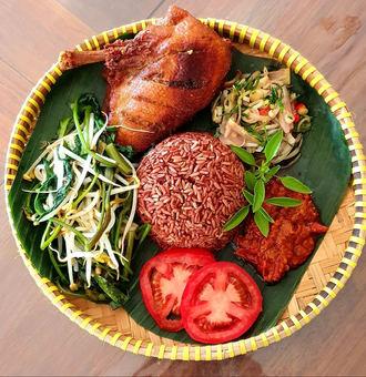 Bebek Goreng Meal (Fried Duck)