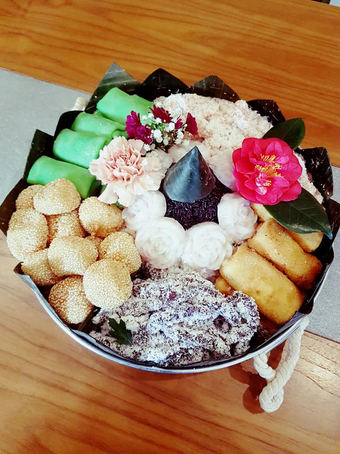 Dessert fingerfood