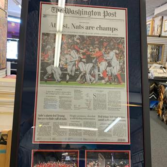 World Series Newspaper