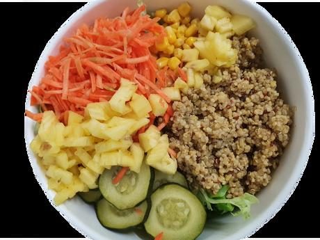 salade quinoa ananas