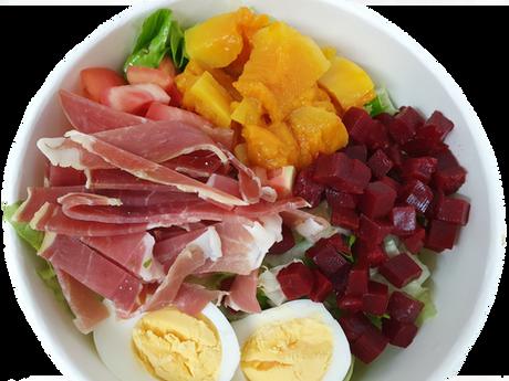 salade jambon cru