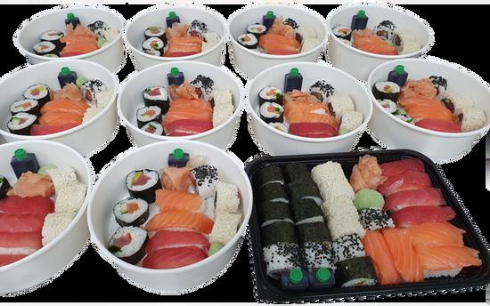 sushis barquettes 10 ou 20