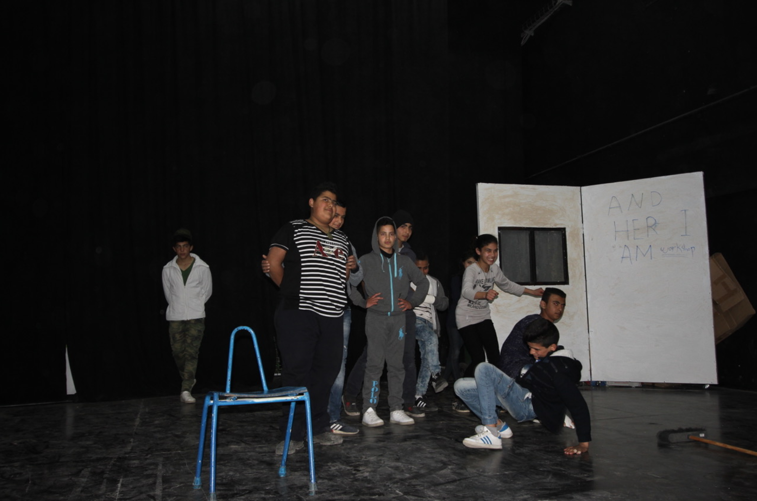 Workshop / Jenin Refugee Camp