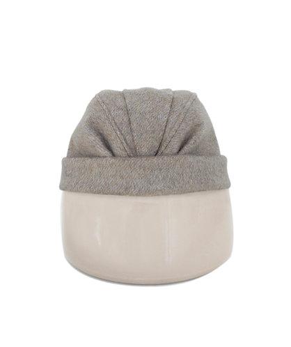 Isa Toque Hat Warm Grey