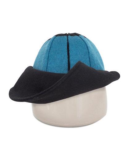 Pallanza Hat Black and Blue