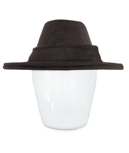 Clio Double Brim Fedora Hat