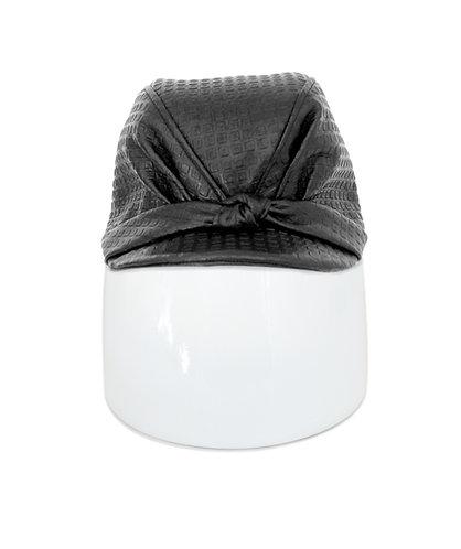 Irina Knop Embossed Leather Cap