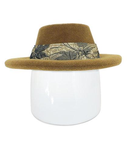 Raffaella Round Brim Hat