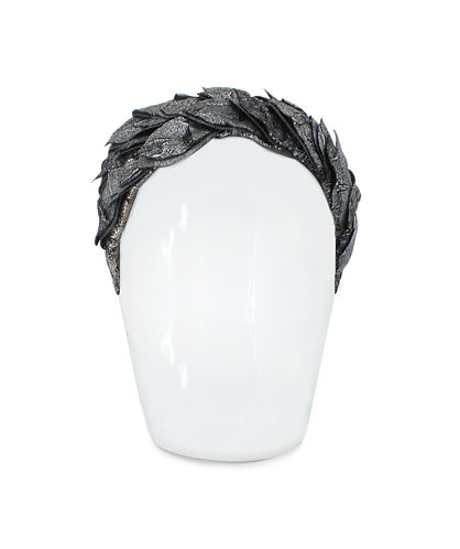Lara Black Swan Headpiece