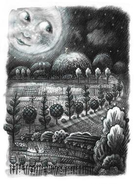 Hillside Moon