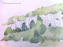 budleigh salterton watercolour
