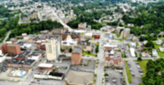 Aerial View of Downtown Fairmont