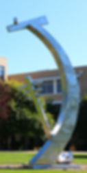 Fairmont State Science Statue