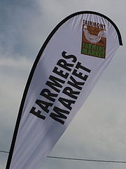 Fairmont Farmer's Market Flag