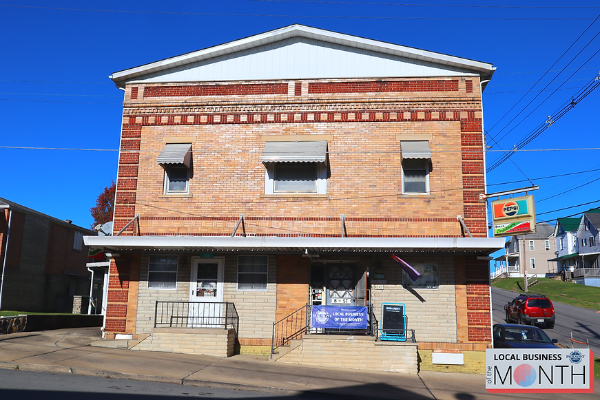 Front of 8th Street Confectionery Business