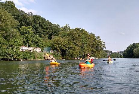 Fairmont Kayakers