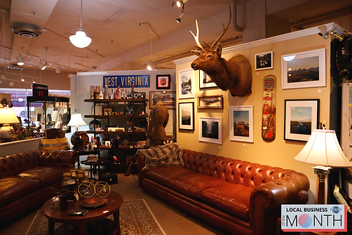 showroom at Fairmont Mercantile