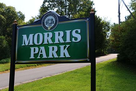 Morris Park sign
