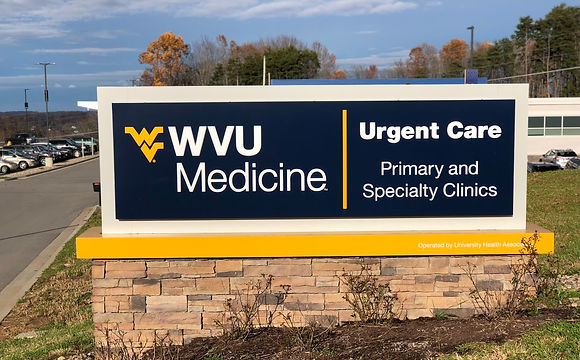 WVU Medicine Sign